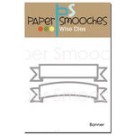 Paper Smooches - Dies - Banner