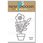Paper Smooches - Dies - Potted Plant