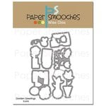 Paper Smooches - Dies - Garden Greetings Icons
