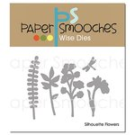 Paper Smooches - Dies - Silhouette Flowers