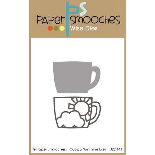 Paper Smooches - Dies - Cuppa Sunshine