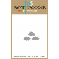 Paper Smooches - Dies - Mini Clouds