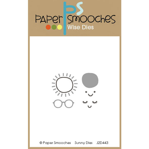 Paper Smooches - Dies - Sunny