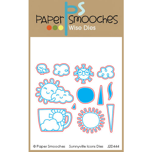Paper Smooches - Dies - Sunnyville Icons