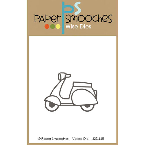 Paper Smooches - Dies - Vespa