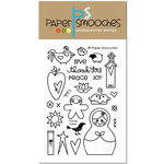 Paper Smooches - Clear Acrylic Stamps - FOLKal Points
