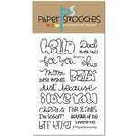 Paper Smooches - Clear Acrylic Stamps - Word Up