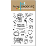 Paper Smooches - Clear Acrylic Stamps - Pip Squeaks