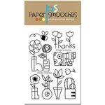 Paper Smooches - Clear Acrylic Stamps - Garden Greetings
