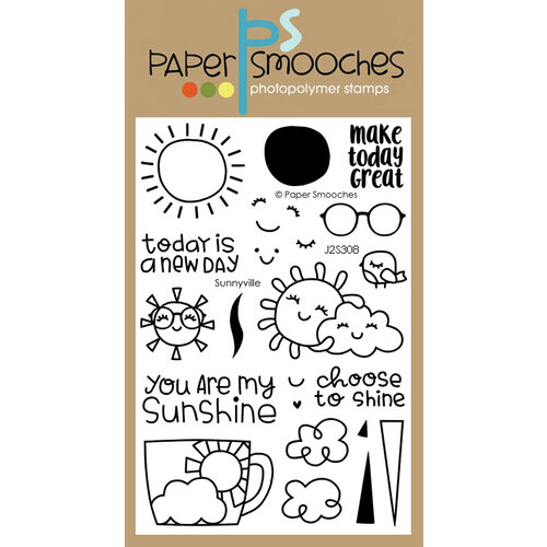 Paper Smooches - Clear Photopolymer Stamps - Sunnyville