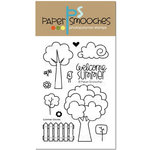 Paper Smooches - Clear Acrylic Stamps - Summer Groves