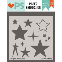 Paper Smooches - Stencils - Starry