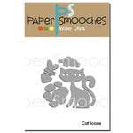 Paper Smooches Cat Icons Dies