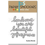 Paper Smooches Kudos Words Dies