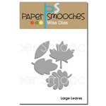 Paper Smooches - Dies - Large Leaves