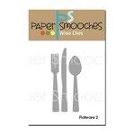 Paper Smooches - Dies - Flatware 2