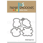 Paper Smooches - Dies - Giddy Bugs Icons