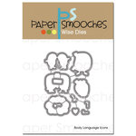 Paper Smooches - Dies - Body Language Icons