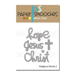 Paper Smooches - Dies - Religious Words 2
