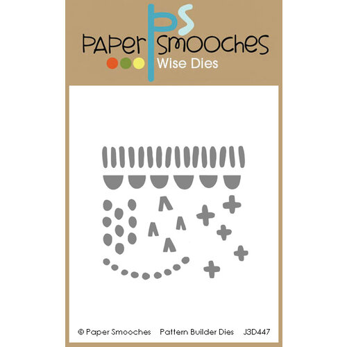 Paper Smooches - Dies - Pattern Builder