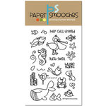 Paper Smooches - Clear Acrylic Stamps - Surf and Turf