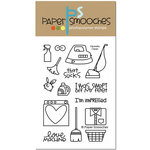 Paper Smooches - Clear Acrylic Stamps - Squeaky Clean