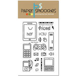 Paper Smooches - Clear Acrylic Stamps - Teen Routine