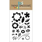Paper Smooches - Clear Acrylic Stamps - Calico