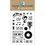 Paper Smooches - Clear Acrylic Stamps - Beboppin