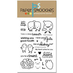Paper Smooches - Clear Acrylic Stamps - Body Language