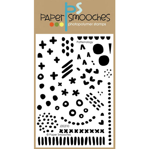 Paper Smooches - Clear Photopolymer Stamps - Patternology