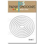 Paper Smooches - Dies - Ovals 1