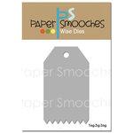 Paper Smooches - Dies - Tag Zig Zag