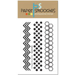 Paper Smooches - Clear Acrylic Stamps - Geo-Graphic