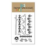 Paper Smooches - Clear Acrylic Stamps - Whimsical