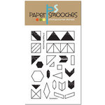 Paper Smooches - Clear Acrylic Stamps - Geobasics