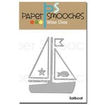 Paper Smooches - Dies - Sailboat
