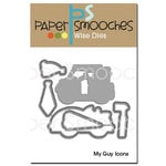 Paper Smooches - Dies - My Guy Icons