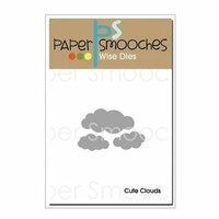 Paper Smooches - Dies - Cute Clouds
