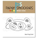 Paper Smooches Bear Frog Card Dies