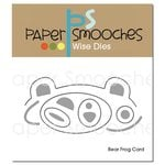 Paper Smooches - Dies - Bear Frog Card