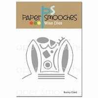 Paper Smooches - Dies - Bunny Card