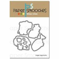 Paper Smooches - Dies - Huge Hugs Icons