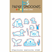 Paper Smooches - Dies - Splash Icons