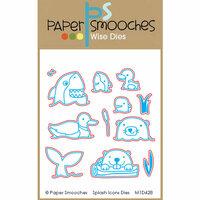 Paper Smooches - Dies - Splash Icons