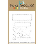 Paper Smooches - Dies - Stitching Basics