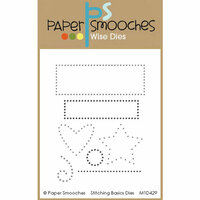 Paper Smooches - Dies - Stitching Basics