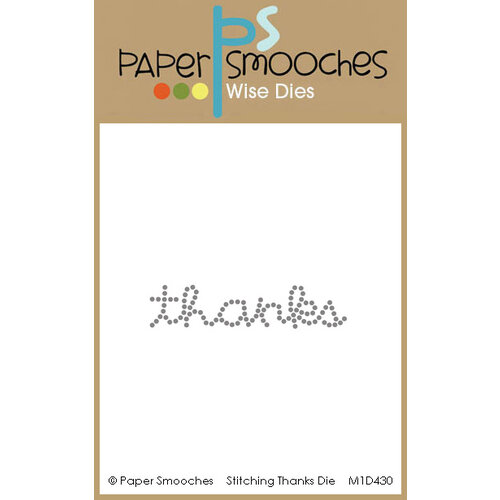 Paper Smooches - Dies - Stitching Thanks