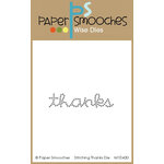 Paper Smooches - Dies - Stitching Thanks