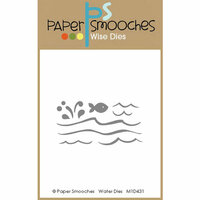 Paper Smooches - Dies - Water